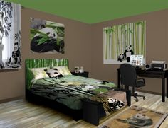 Panda Bedrooms On Pinterest Bedroom Themes Theme