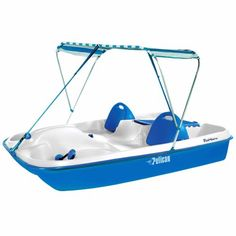 The Pelican Monaco DLX 76 Pedal Boat Features Adjustable Backrests To Provide A