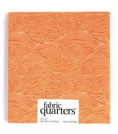 """Fabric Quarters Cotton Fabric 18""""-Assorted Orange"""
