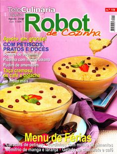TeleCulinária Robot de Cozinha Nº 19 - Agosto 2009