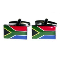 Manchetknopen Zuid-Afrikaanse Vlag