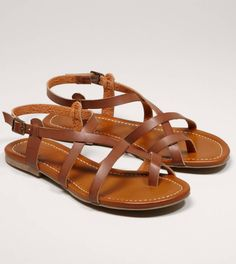 Gonna need some new brown sandals this spring/summer
