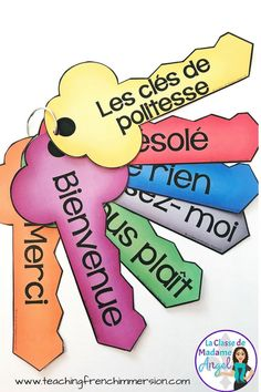 La politesse.  Teach your French students polite words with this free set of reference posters.  The blog post also has some great ideas for teaching manners in French. #LaPolitesse #FrenchClassroomManners #frenchimmersion