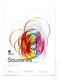 Souvenirs  Poster, flyer, illustration, CD Packaging & multimedia for a personal exhibition project at Sao Paulo