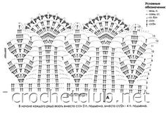 beside crochet: فستان كروشية أزرق نيللي رائع.blue crocheted dress for girls Crochet Baby Dress Pattern, Crochet Lace Edging, Crochet Coat, Crochet Baby Clothes, Crochet Borders, Crochet Diagram, Thread Crochet, Crochet Blanket Patterns, Irish Crochet