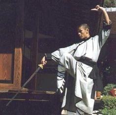 Show details for Shaolin Wudang Robe  $149 Karate Equipment, Tai Chi Clothing, Martial Arts Supplies, Martial Arts Weapons, Character Art, Character Design, Dnd Characters, Mandarin Collar, Art Images