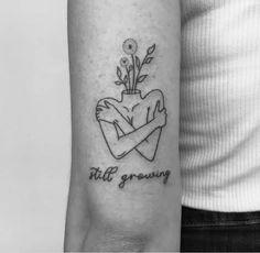 still growing. Work of Bff Tattoos, Dainty Tattoos, Wrist Tattoos, Love Tattoos, Unique Tattoos, Body Art Tattoos, Tattoos For Women, Piercings, Piercing Tattoo