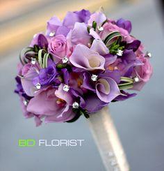 orchid, wedding bouquet with purple.  Custom your own style wedding: https://www.facebook.com/bdflorist.shophoatuoi