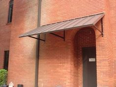 CLASSIC METAL AWNING - - CUSTOM METAL AWNINGS - Copper Awning - Metal Awning for Doors & Windows - Shipped in USA