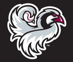 Idaho Falls Chukars Cap Logo on Chris Creamer's Sports Logos Page - SportsLogos. A virtual museum of sports logos, uniforms and historical items. Mascot Design, Logo Design, Graphic Design, Baseball Mascots, Baseball Teams, Fly Logo, Bird Logos, Eagle Logo, Sports Graphics