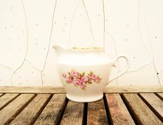 Vintage Soviet Era Riga Porcelain Factory Rose by Littlemix