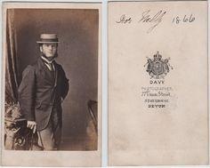 Carte De Visite Published By Davy Stonehouse Devon