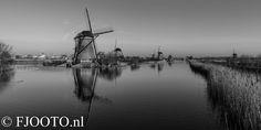 Dutch windmills @kinderdijk Holland.