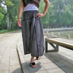 So go to sleep/soft loose cotton pants/2 by KelansArtCouture