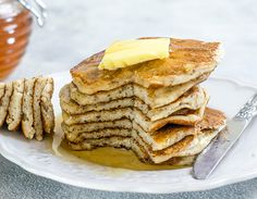 Eggless Perfectly Fluffy Pancakes