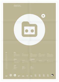 Universal Branding System (Aälejandro Díazs) Poster