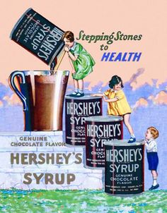 Step right up for sugar syrup and You, yes You, could get to suck that syrup right up! (Noting girl on top step)