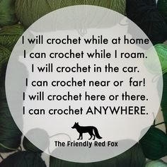 Funny Crochet Memes - The Friendly Red Fox Crochet Crafts, Crochet Yarn, Crochet Projects, Crochet 101, Crochet Mandala, Crochet Afghans, Double Crochet, Crochet Ideas, Crochet Stitches