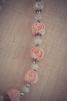 Ric Rac Rose beads - now this is cute!