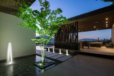 MT House: Sleek Modern Home with Views of the City in Monterrey, Mexico | Home Design Lover