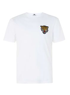 White Tiger Badge T-Shirt - New Season Trends - Clothing - TOPMAN USA
