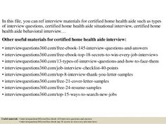 Certified Home Health Aide Sample Resume Learning Support Images  Google Search  Mindful.pinterest .