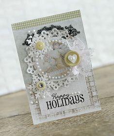 ~Happy Holidays~ Maja Design - Scrapbook.com