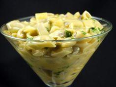 Salata+de+pastai+cu+maioneza Mango, Romanian Food, Chickpea Salad, 30 Minute Meals, Antipasto, Raw Vegan, Macaroni And Cheese, Vegetarian Recipes, Cabbage