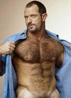 Hirsute bear hunks at work
