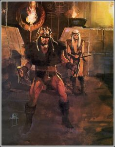 Bill Sienkiewicz - Conan