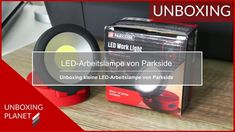 Kleine LED-Arbeitslampe von Parkside - Unboxing Planet In China, Smartphone, Led, Video News, Planets