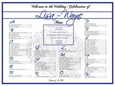 wedding table assignment | ... Wedding Seating, Escort Board, Table Seating Assignments on Etsy