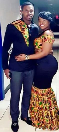Kente African Print/ Ankara Couple Clothing/ Bride and Groom Outfit/Wedding Attire/ African Clothing/ Prom Couple Outfit/ Kitenge/ Dashiki/ Couples African Outfits, African Dresses Men, African Shirts, Latest African Fashion Dresses, Couple Outfits, African Print Fashion, African Inspired Fashion, African Clothes, Africa Fashion