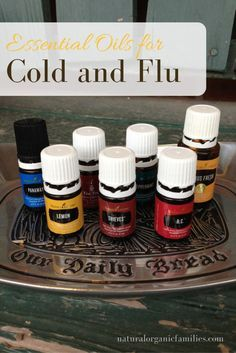 Use these great essential oils for cold and flu