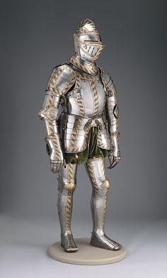 Field and Tournament Armor of Johann Wilhelm (1530–1573), Duke of Saxe-Weimar