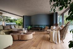 Wooden facade: Modern house design by SAOTA - Architecture Beast Green House Design, Modern House Design, Healthcare Architecture, Interior Architecture, Wooden Facade, Latest House Designs, Home Decor Paintings, Formal Living Rooms, Modern Living