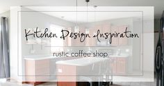 Rustic Coffee Shop Kitchen Ideas Shop Interior Design, Interior Design Kitchen, Rustic Coffee Shop, Shops, Shop Plans, Modern Exterior, Modern Rugs, New Homes, Design Inspiration