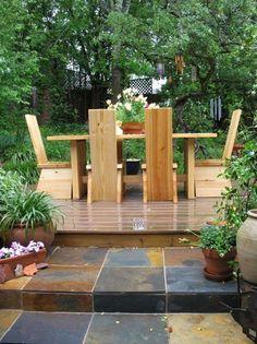52 best concrete and wood tables images wooden tables concrete rh pinterest com