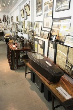 *Drool* To me this is HEAVEN.  Lafferty Funeral Museum - West Union, Ohio by Ancestors of Cornelius Dunham, via Flickr