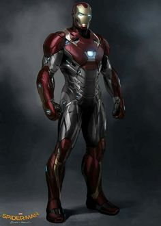 Stark's latest armor in Spider-Man Homecoming.