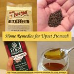 7 Home Remedies for Upset Stomach