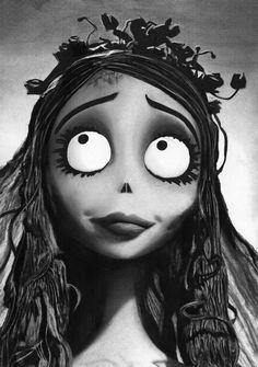 Tim Burton Corpse Bride Emily (Original)