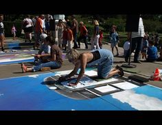 CMA Chalk Festival Sep. 21-22.  Professional artists, amateurs, and kids decorate the sidewalks surrounding the museum. There will be live music as well. It's free to watch, or for less than ten dollars get your own square and box of chalk to create something.