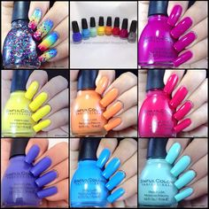 Uma's Nail Art: SinfulColors Pride Collection Review and Swatches....