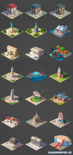 Quadropolis on Behance