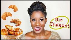 Natural Hair Protective Style | GOLDEN Croissant Hair Tutorial