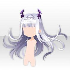 Hairstyle Items on the CocoPPa Play Wiki. Pelo Anime, Anime Manga, Manga Hair, Drawing Base, Manga Drawing, Chibi Hair, Chignon Hair, Dark Witch, Hair Sketch