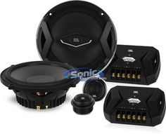 """JBL GTO609C 6.5"""" GTO Component Car Speakers System"""