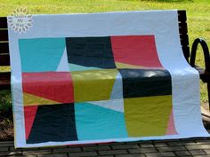 Deconstructed Windmill Quilt | Quilts My Way