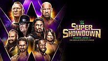 WWE Super ShowDown 2019 Wwe Intercontinental Championship, Clash Of Champions, Nxt Takeover, King Abdullah, Wwe Pay Per View, Braun Strowman, Survivor Series, No Way Out, Wrestling Wwe